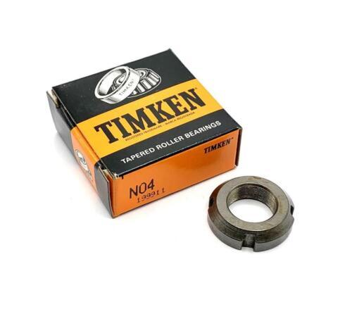 "Timken N04 Bearing Locknut 1-3//8/"" 20 Available"