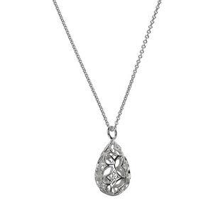 Silver-Trends-Halskette-mit-Anhaenger-echt-Silber-925-Sterling-43-cm-mit-Zirkonia