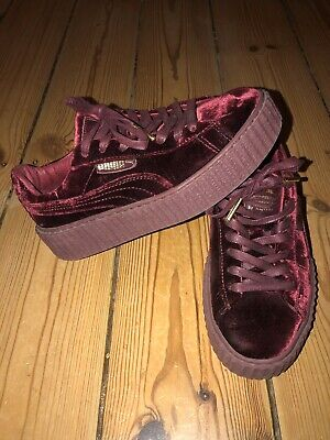 Details about NEW PUMA FENTY BY RIHANNA VELVET CREEPERS ROYAL PURPLE MEN'S SHOES ALL SIZES
