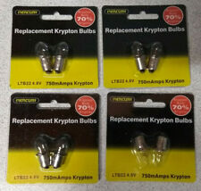 Torch Bulb Push in type 2.5V 0.5A pack of two standard bulbs