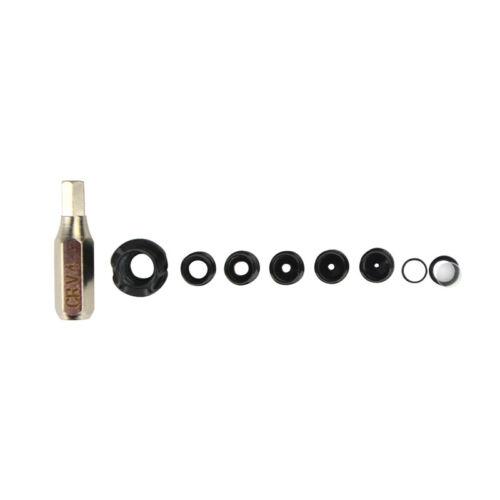 1Set Arco E Flecha Bow Peep Sight lente de abertura para lente Composto Arco alimpador Peep