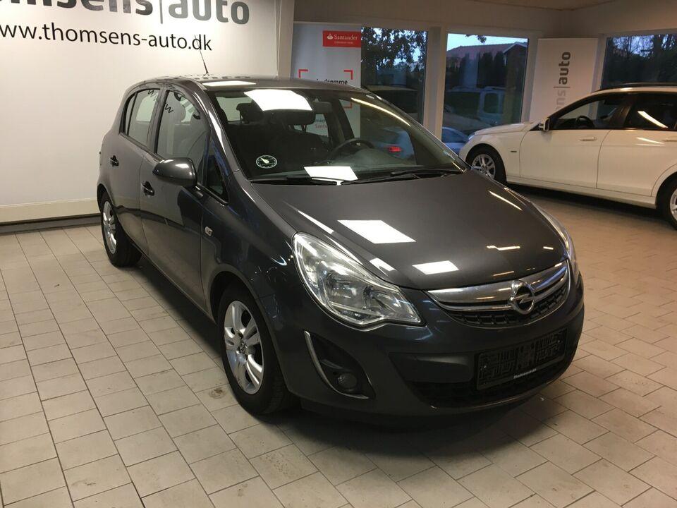 Opel Corsa 1,3 CDTi 95 Cosmo eco Diesel modelår 2012 km