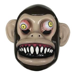 Image Is Loading Googly Eye Monkey Mask Scary Animal Horror Chimp