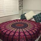 "Indian Round Mandala Table Cloth Beach Throw Hippie Yoga Mat Towel Bohemian 72"""