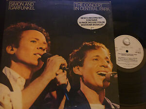 DOUBLE-LP-SIMON-AND-GARFUNKEL-The-Concert-In-Central-Park