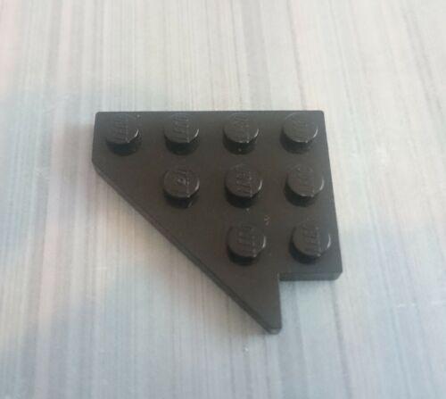 LEGO D/'OCCASION NOIR X 1 4x4 Aile gauche plaque 3936