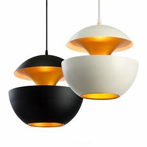 Metal-pendentif-Luminaire-moderne-orange-Ball-Round-pendan-Lights-sans-Ampoule