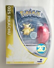 Officia Pokemon 20th Anniversary Limited Edition Pikachu 4 Pack Assortment 025