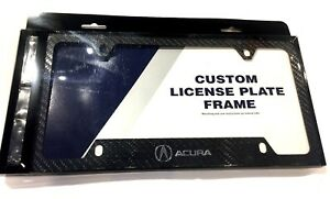 Real Carbon Fiber License Plate Frame For Acura Integra