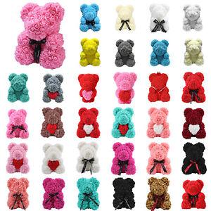 Image Is Loading 23 24 25 38 40 Cm Rose Bear