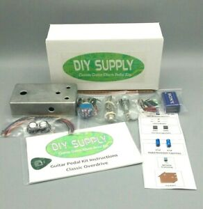 DIY-Guitar-Effects-Pedal-Kit-Vintage-Tweed-Overdrive-Detailed-Instructions