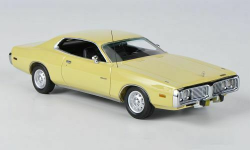 NEO MODELS Dodge Charger Yellow 1:43 44753