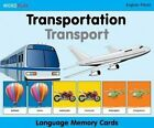 Language Memory Cards - Transportation by Milet Publishing Ltd 9781840595567