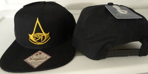 Assassins Creed Origins Video Game Snap Back Hat Nwt