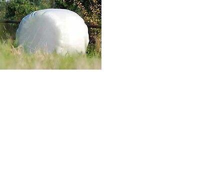 Stretchfolie 50cm  weiß Wickelfolie Siloballenfolie Silofolie Agrarfolie 0,077€//