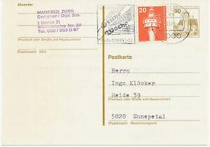 Berlin-Internacional-semana-verde-1980-werbestempel-a-30-pf-ga-con-adicion-Frank