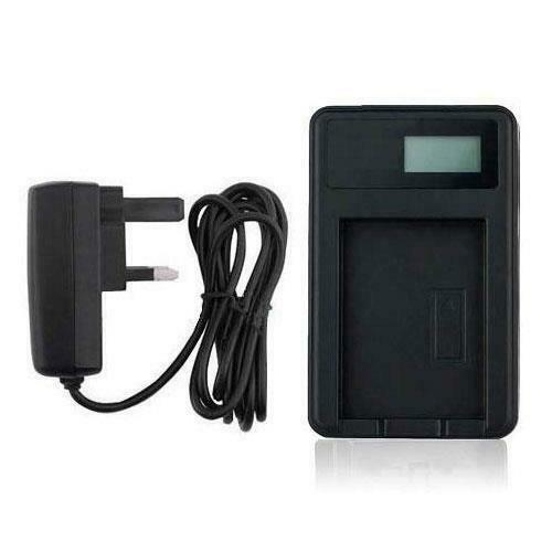 Battery Charger DMW-BCE10 USB Panasonic Lumix SDR-SW28 DMC-FS20 DMC-FS3