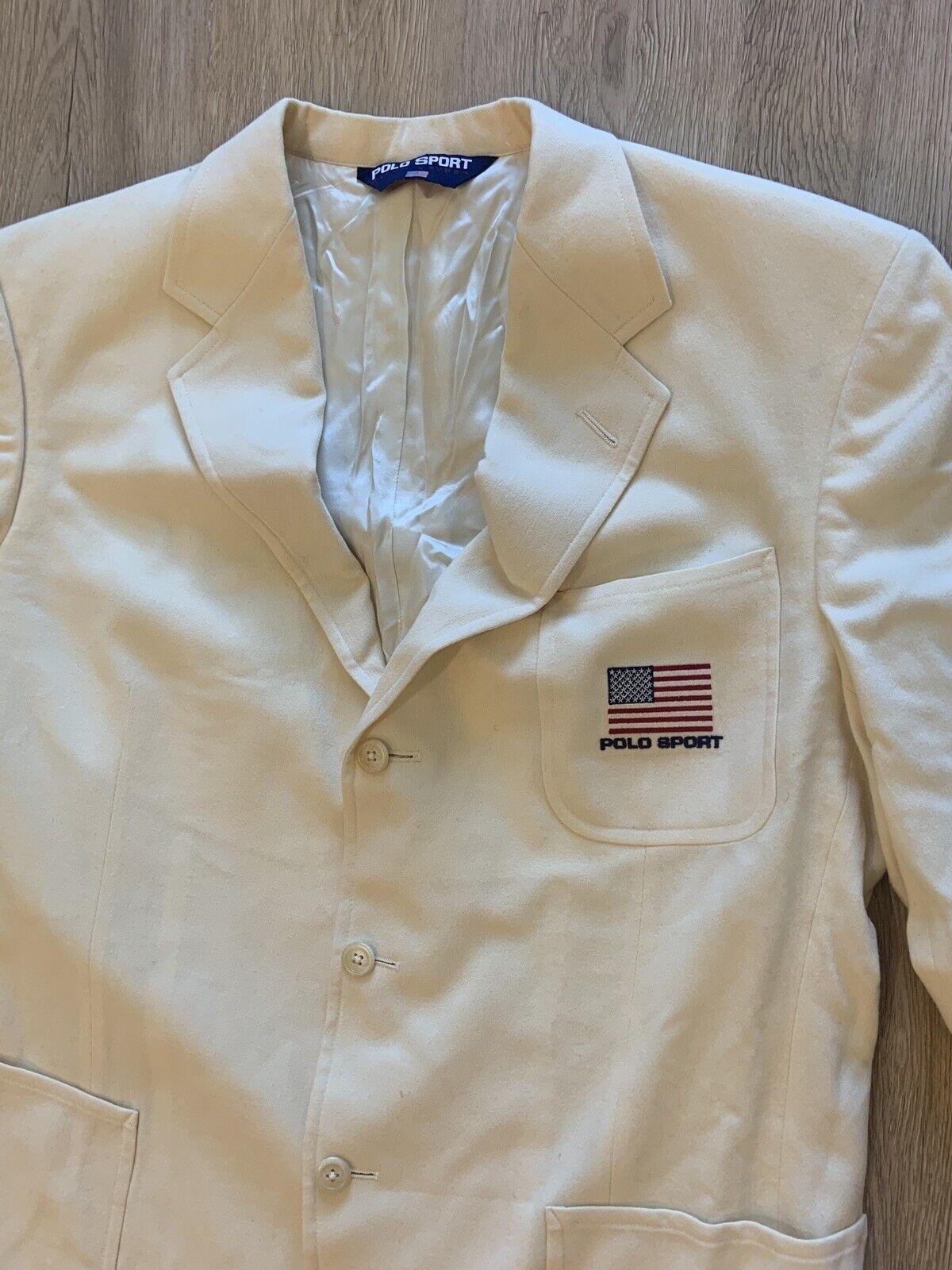 Vintage Polo Sport Sport Jacket - image 6