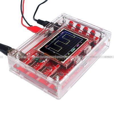 "DSO138 2.4"" TFT Digital Oscilloscope Acrylic Case DIY Kit SMD Soldered"