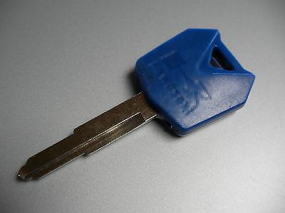 Kawasaki ZX6R ZX9R ZX10R ZZR 400 500 600 750 900 1000 ER6 Schlüssel Rohling Blau
