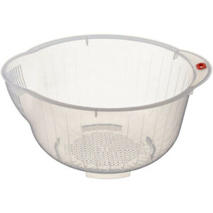 Kitchen-Transparent-Rice-Washing-Bowl-Food-Cleaning-Strainer-Fruit-Drain-Basket
