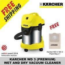 KARCHER MV 3 / WD 3 (PREMIUM) WET AND DRY VACUUM CLEANER