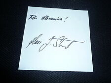 HANS JOACHIM STUCK  signed Autogramm In Person Albumseite