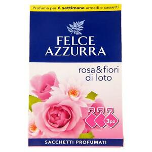 Details About Fern Blue Bags Scented Rose And Fiori Di Loto 3 A Package