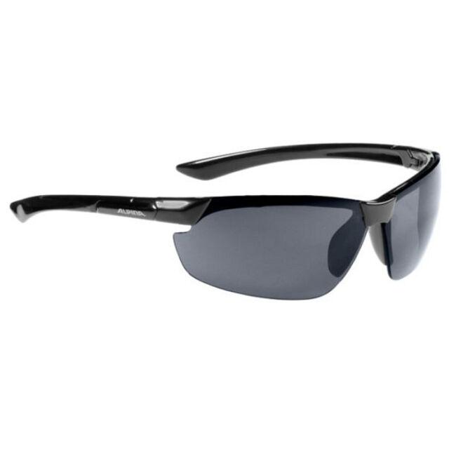Alpina Fahrradbrille Sportbrille Draff black