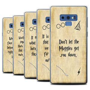 Gel-TPU-Case-for-Samsung-Galaxy-Note-9-N960-School-Of-Magic-Film-Quotes