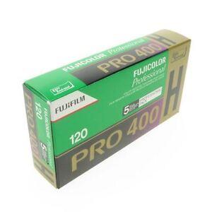 Paquet-De-5-Fujifilm-Pro-400H-120-Taille-ISO400-Couleur-Film-Negatif