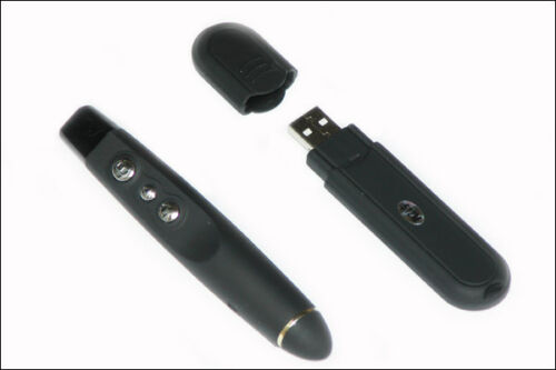 NEU Wireless USB Presentation Laser Pointer mit 512 MB