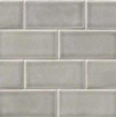 Dove Gray Le Glazed Subway Tile Mosaic Backsplash Bathroom Kitchen 3 X6 Ebay