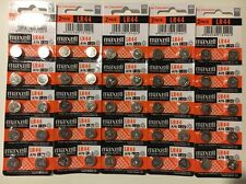 50 NEW LR44 MAXELL A76 L1154 AG13 357 SR44 303 BATTERY FREE SHIPPING FROM USA