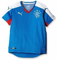 Glasgow Rangers 2015/16 Puma Football Kids Replica Shirt Royal Blue/ White