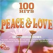 Various Artists - 100 Hits (Peace & Love, 2016) 5CD Psychedelic Sounds - Immacul