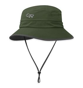 New Outdoor Research Women s Sombriolet Bucket Hat Green Sz Medium ... dda28fb7a