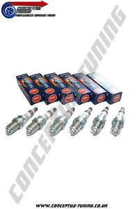 Uprated-Set-6-x-Colder-NGK-Iridium-Spark-Plugs-HR7-For-JZZ30-Soarer-1JZ-GTE