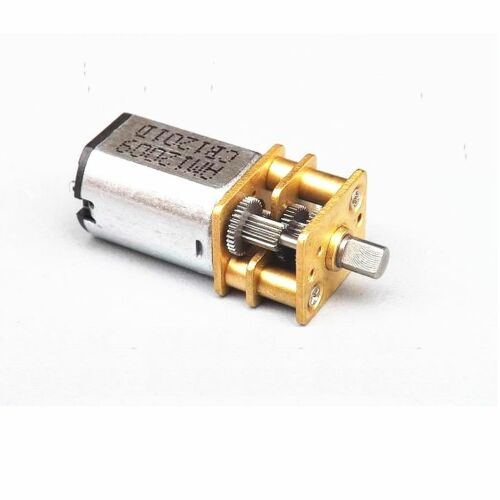 2PCS DC 6V 30RPM Micro Speed Reduction Gear Motor with Metal Gearbox Wheel Shaft