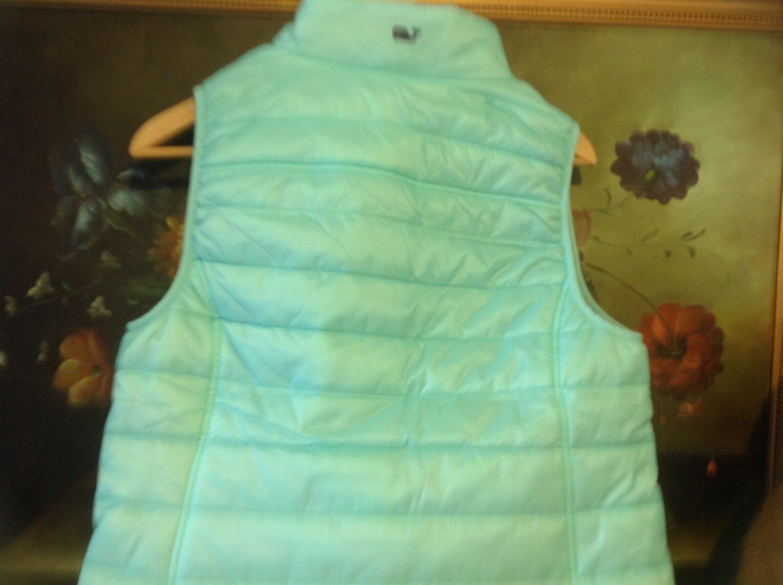 NWT NWT NWT VINEYARD VINES Women's Mountain Weekend Vest SIZE S Caicos 8efd20