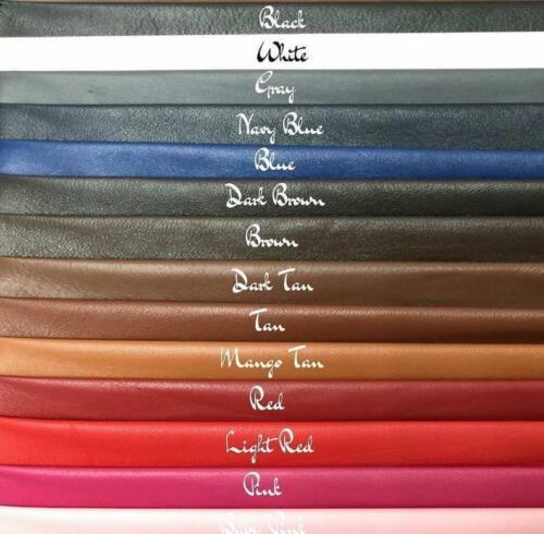 Men/'s Genuine Lambskin Leather Trench Long Coat Stylish Belted Black Jacket