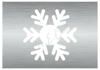 Christmas Snow Flake Stencil 1 A5 To A0 14cm To 1.2 Meters Or Bigger Cmas035 Waterdicht, Schokbestendig En Antimagnetisch
