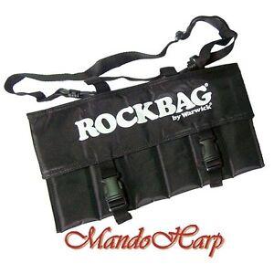 Rockbag-Harmonica-Bag-RB10301B-Gigbag-for-6-Blues-Harmonicas-NEW