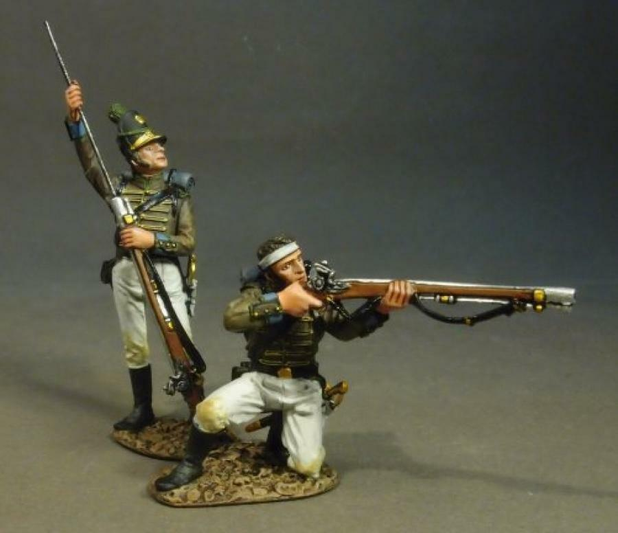 JOHN JENKINS PENSULAR WAR 1807-1814 CAZ-01W CAZADORES LOADING and BRAND MIB