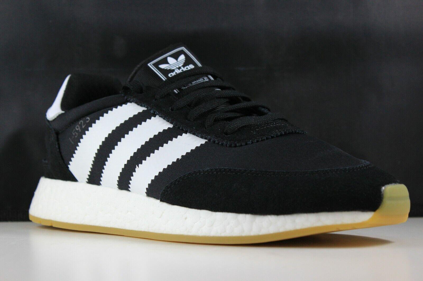 Adidas I-5923 Talla 10 para hombre Core Negro blancoo Gum D97344