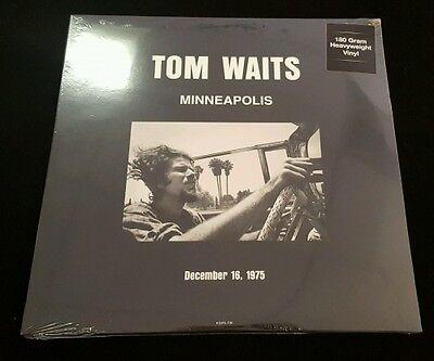 TOM WAITS Minneapolis Dec 16, 1975 2x LP NEW VINYL Dol live 1945-46 180g
