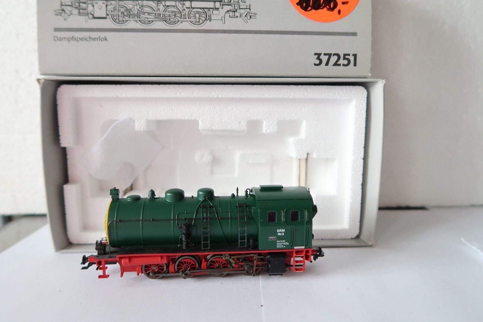 Digital Märklin HO AC 37251 Dampfspeicher Nr 3 GKM  (AC 163-35R7 13)