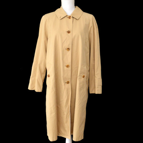 BURBERRY Vintage Logos Long Sleeve Trench Coat Jac