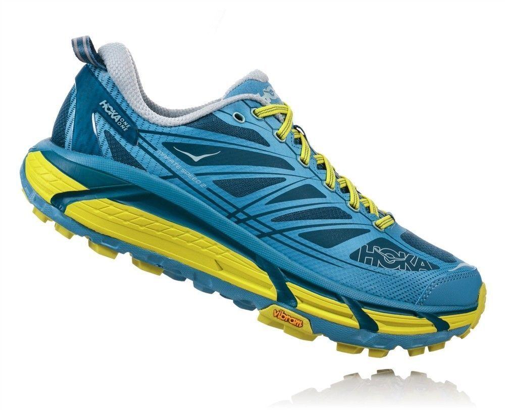 Hoka M M M MAFATE Speed 2 Herren Trail Running Blau Herrenschuhe Schuh 255fdf
