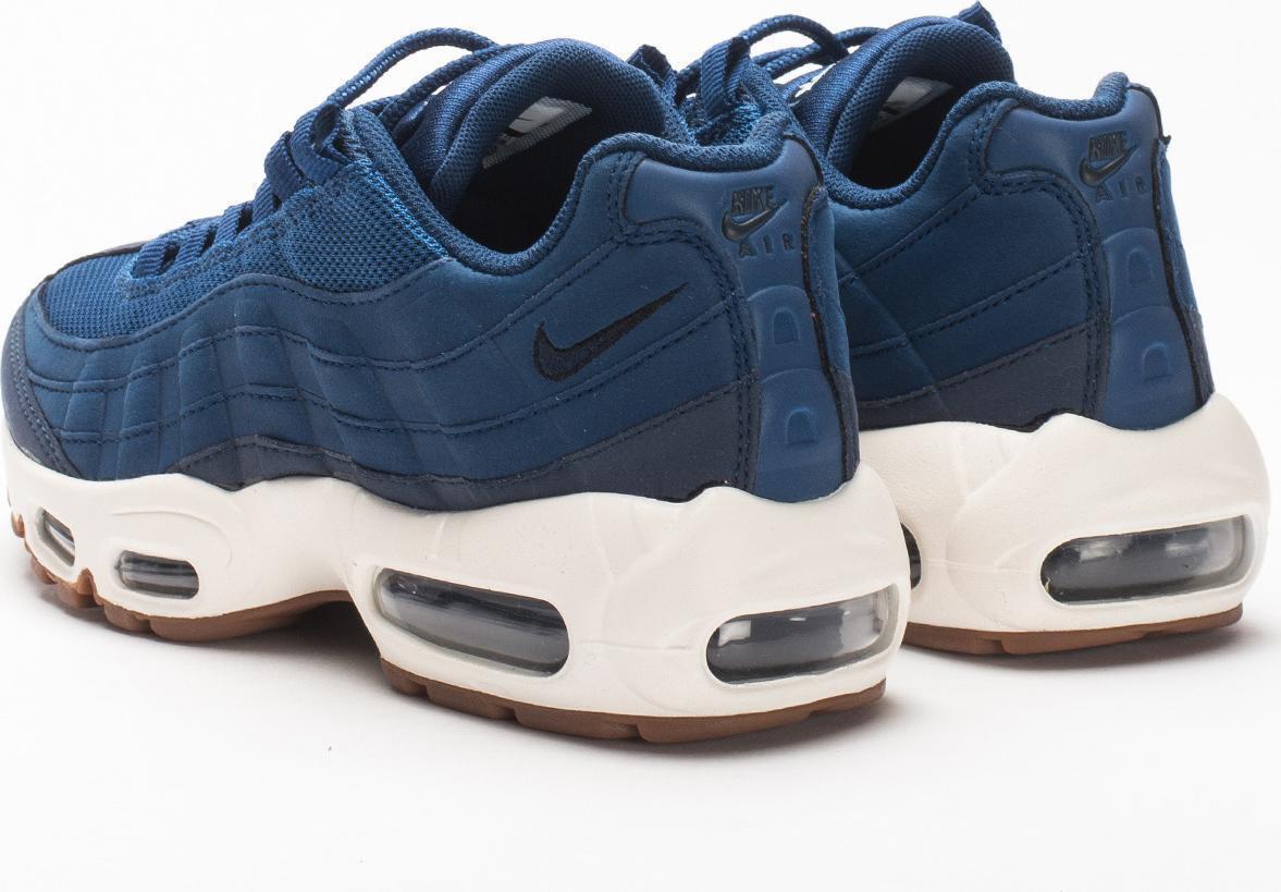 Damen Nike Bir Max 95 Blau Laufschuhe 307960 400